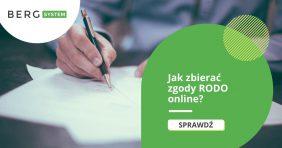Jak zbierać zgody RODO online?